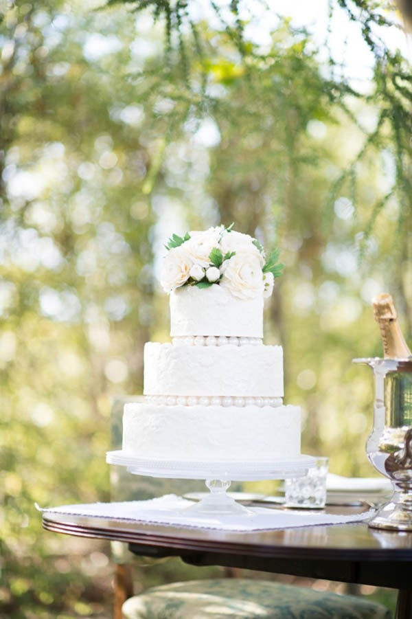 Tiered Classic Wedding Cake