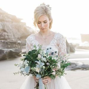Pastel Beach Bride