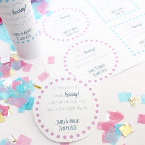 Printable Labels for your Confetti Thrower
