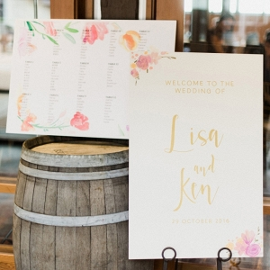 Hand-painted Invites