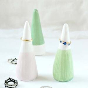 Tutorial On DIY Ring Cones