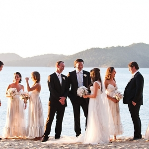 Bridal Party At Qualia