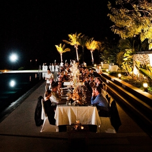 Long Table Under The Stars