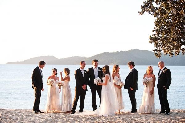 Bridal Party At Qualia