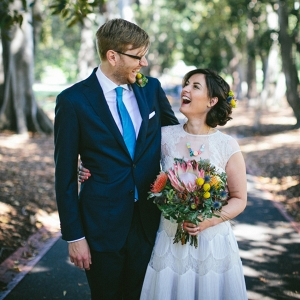 Quirky CIty Wedding