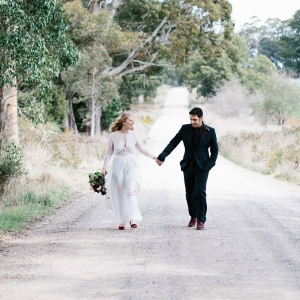 Relaxed Little Church in Spring Hill Wedding