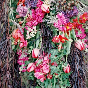 Bohemian Style Floral Arrangement