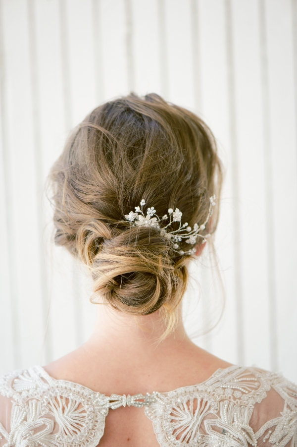 Romantic Bridal Bun Tutorial