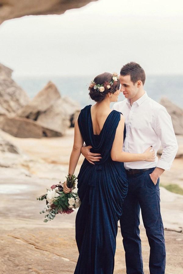 Romantic Clifftop Engagement Session