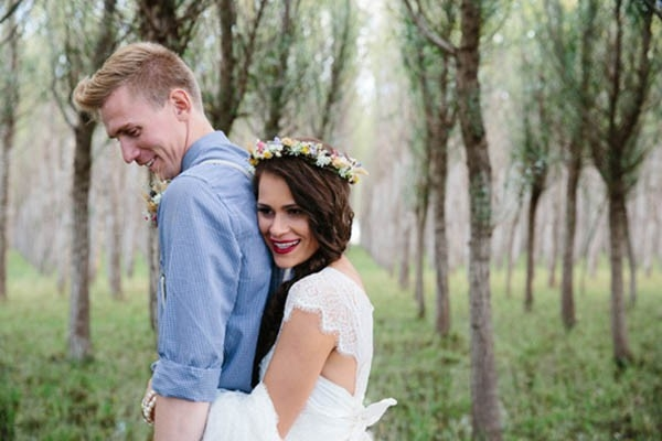 Country Wedding Portrait