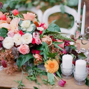 Autumn Wedding Tablescape