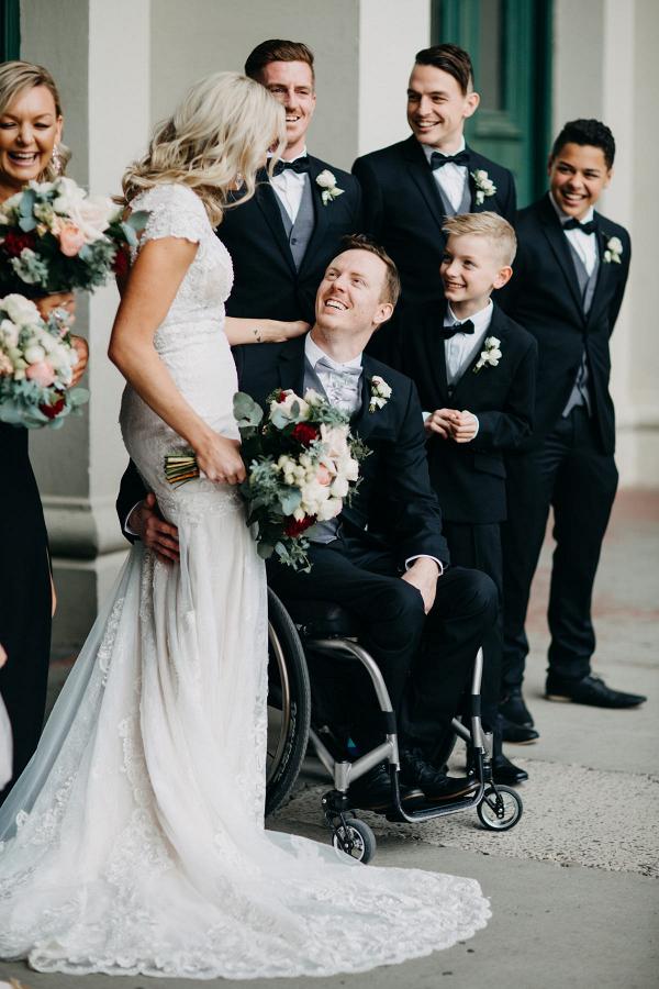 Romantic Fitzroy wedding