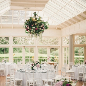 Wedding Reception With French Windows