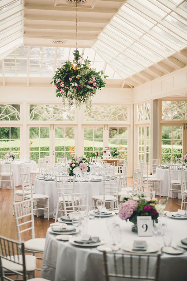 Wedding Reception With French Windows