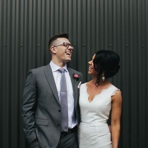 Industrial Melbourne Wedding