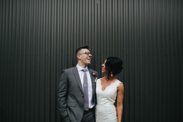 Industrial Melbourne Wedding