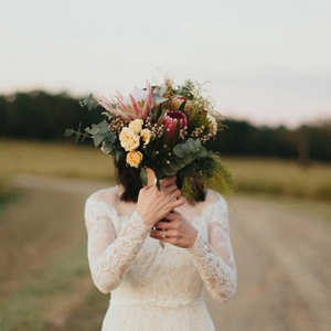 Australian Native Wedding Bouquet