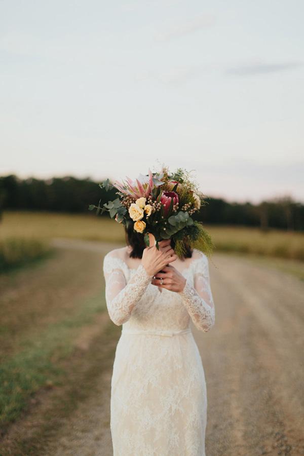 Australian Native Wedding Bouquet