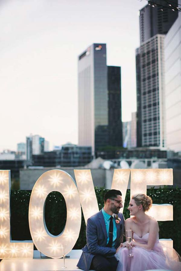 Melbourne Rooftop Wedding