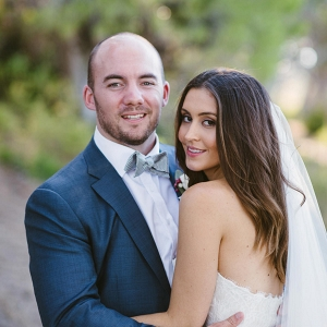 Newlyweds At South Australian Wedding