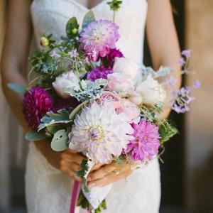 Pink Dahlia Bouquet