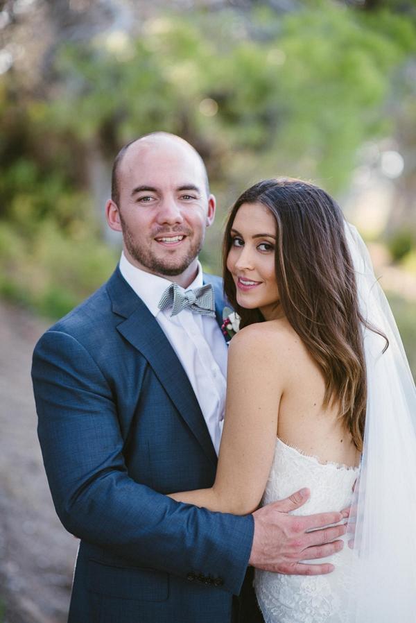 Newlyweds At South Australian Wedding