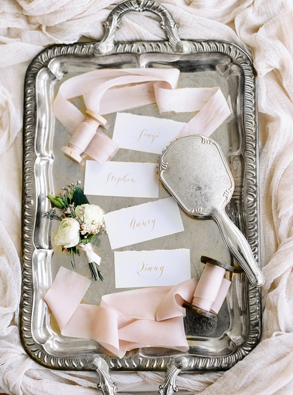 Bespoke Lettering Calligraphy Place Cards