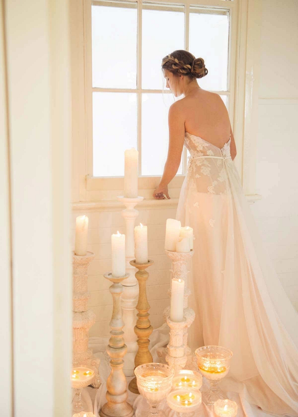 Bride With Candles