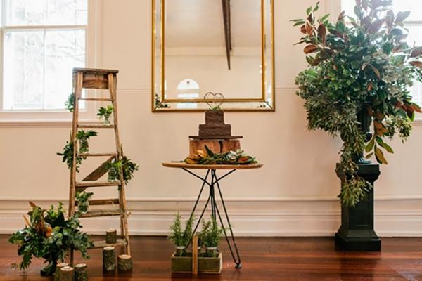 Romantic Woodland Inspired Wedding