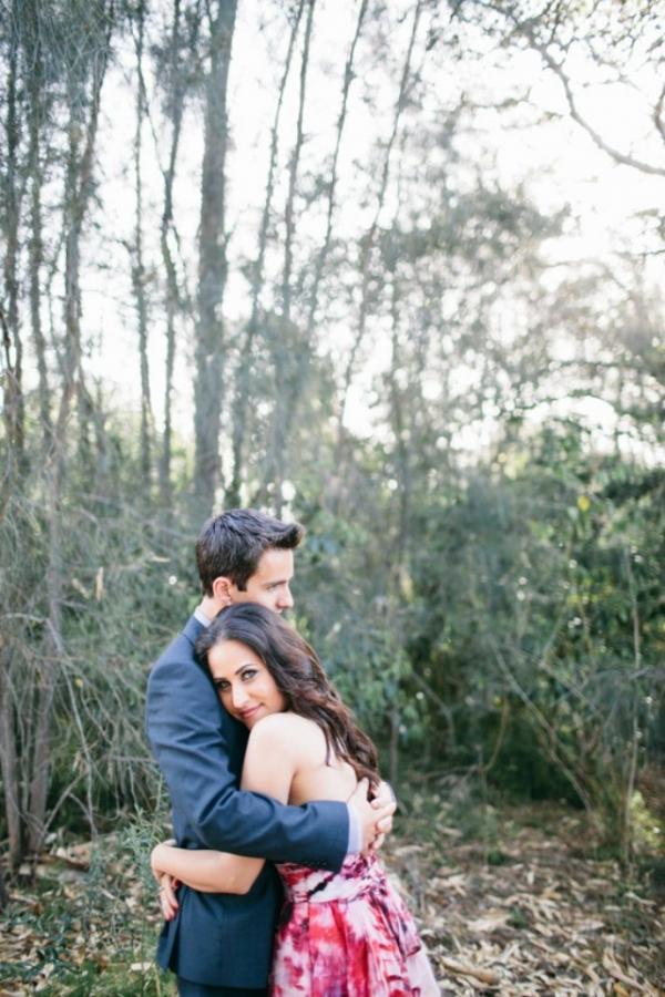 Sweet Hugs At Engagement