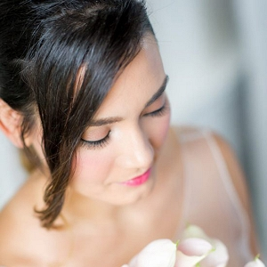 Rose Quartz Wedding Makeup