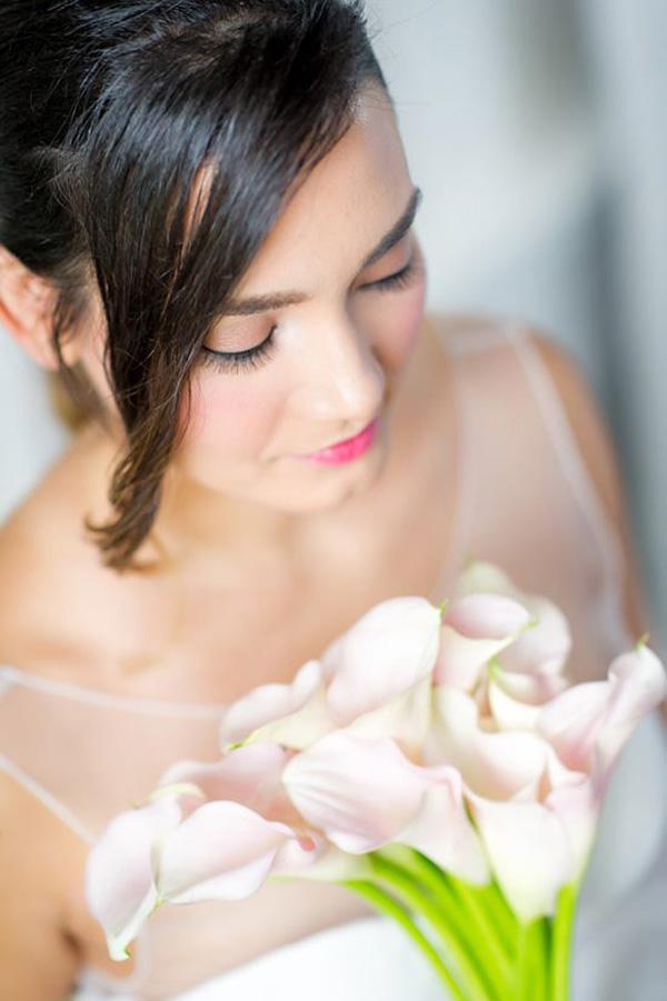 Rose Quartz Wedding Makeup