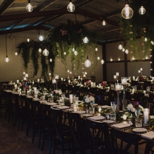 Byron Bay Wedding With Hanging Lights