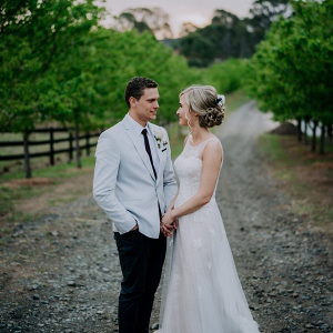 Rustic Mulgoa wedding portrait