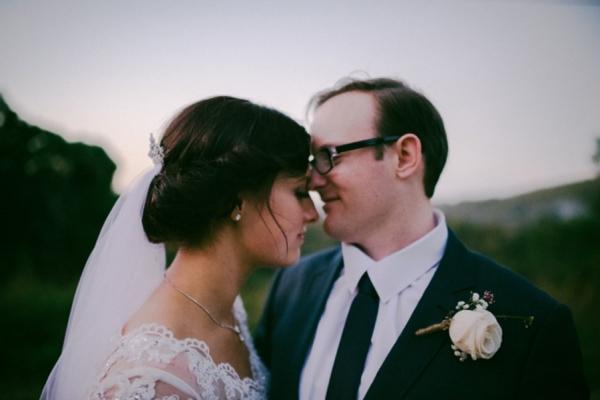 Rustic Vintage Hinterland Wedding Newlyweds