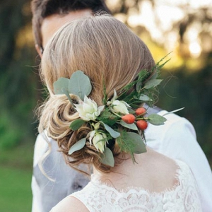 Eucalyptus Hair Flowers