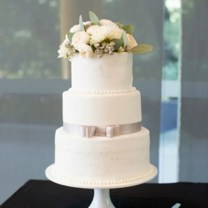 Three Tier Classic Wedding Cake