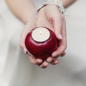 Apple Tea Light Candles