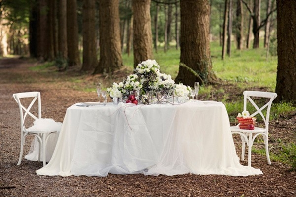 Forest Wedding Table