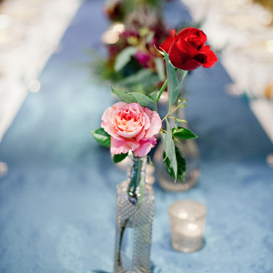 Bottle wedding centerpieces
