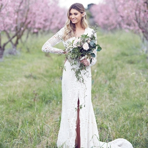Bride Amongst Blossoms