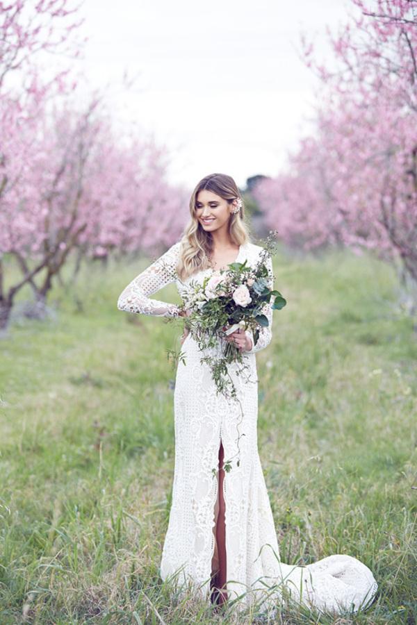 Bride Amongst Blossoms