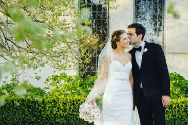 Spring Winery Wedding