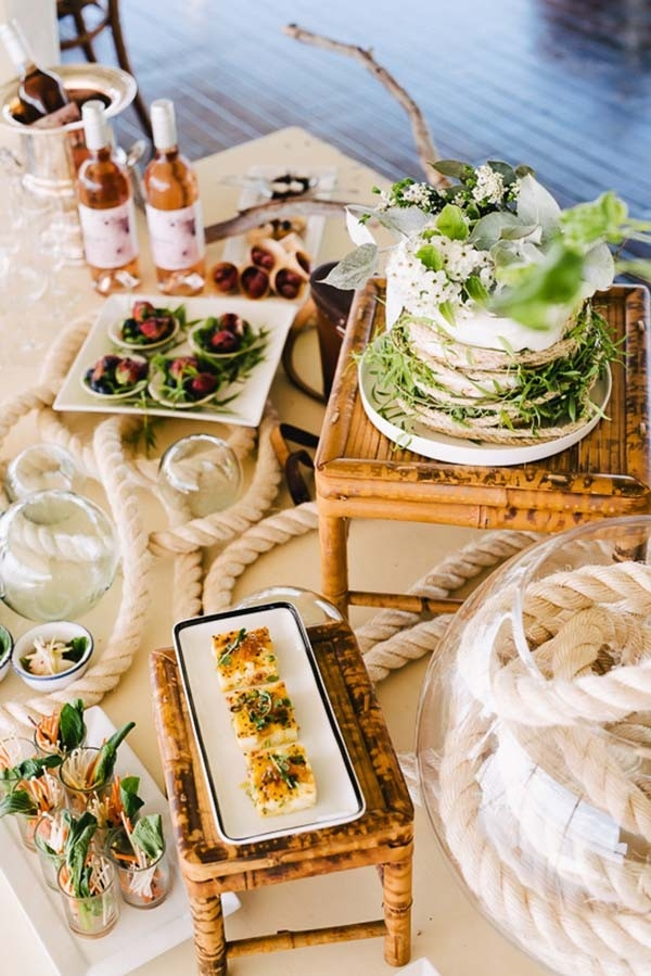 Nautical Inspired Food Table