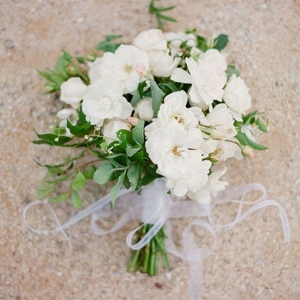 Bouquet Of White And Green