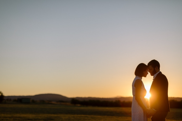 Sunset Canberra Engagement