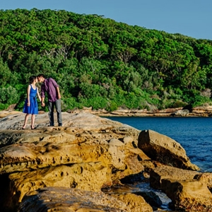 Clifftop Engagement Shoot