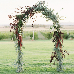 Greenery Floral Arch