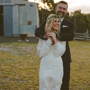 Tasmanian Barn Wedding