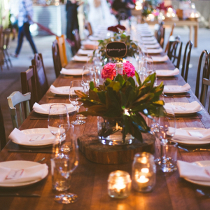 Reception Decor and Layout